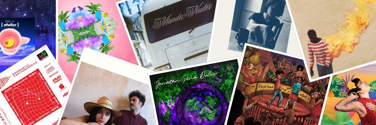 10 álbumes del 2017 en la escena alternativa dominicana, que debes escuchar.