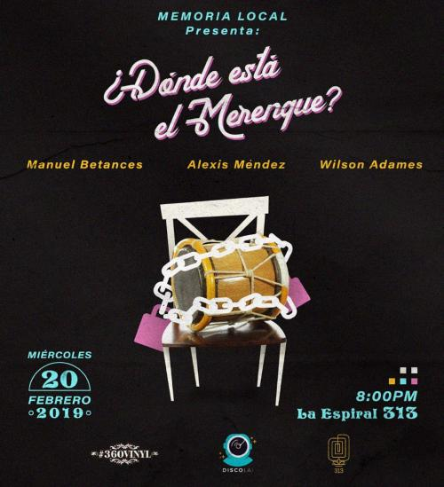 Memoria Local 2019 Feb Merengue